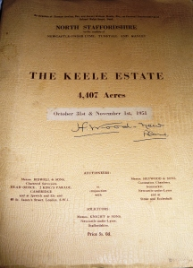 Picture of the cover of the Book of Sale for The Sneyd Estate